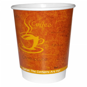 8oz Rimini Double Wall Paper Cup