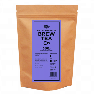 Decaffeinated Tea Loose Tea Pouch
