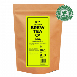 Green Tea Loose Tea Pouch RFA