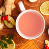 Lemon and Ginger Tea Cup