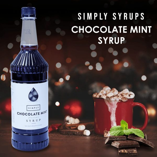 Simply Syrups Chocolate Mint Syrup