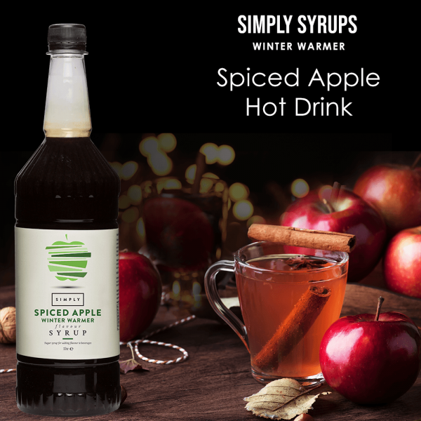 Simply Syrups Spiced Apple Hot Drink