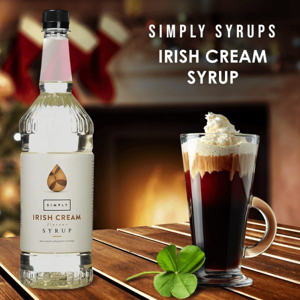 Simply Syrups Irish Cream Syrup Coffee 1652 image