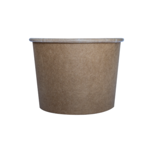 16oz Brown Kraft Squat Bowl