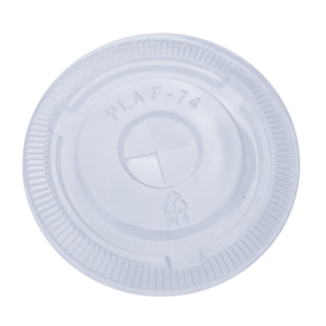 5oz Compostable Clear Cup Flat Lid