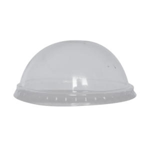 9 oz Clear CPLA Domed lid for 9 oz clear cup