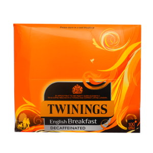 Twinings Trad English Decaff Tagged Teabags (100)