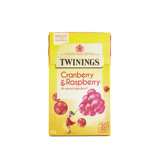 Twinings Cranberry Raspberry 20 bags
